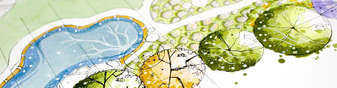 Tuinontwerp interieuracademie erkent je talent for Opleiding tuin
